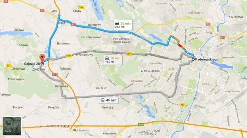 Zakrzewo_mapa